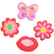 Girly Eraser Party Favours Pk 128
