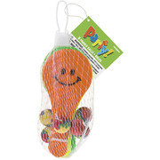 Smiley Paddle Balls Party Favours Pk 8