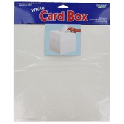 Gift Card Box White Foldable 12inx12inx12in Pk1