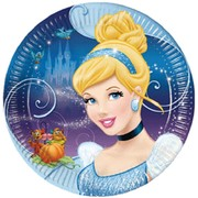 Cinderella Paper Plates Paper 9in Pk8