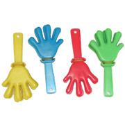 Party Favours - Hand Clappers Pk 8