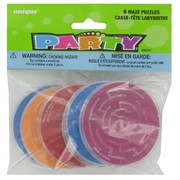 Party Favours - Maze Puzzles Pk 6