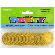 Party Favours - Gold Coins Pk 30