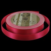 Ribbon Poly Satin 15mm x 25m Fuchsia Pk1