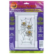 Door Poster Inflatable Spider Pk1