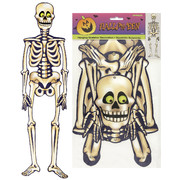 Jointed Skeleton Hanging Cutout Decoration Pk 1