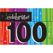 Milestone Celebrations 100 Invitations & Envelopes Pk 8