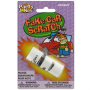 Party Favours - Fake Car Scratch Pk1