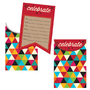 Kraft Celebrate Invitations Pk 8