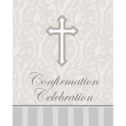Confirmation Invitations & Envelopes (Devotion) Pk 8