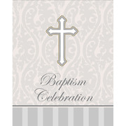 Baptism Invitations & Envelopes (Devotion) Pk 8