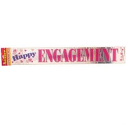 Banner Foil 3.6m Happy Engagement Pk1
