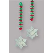 Prismatic Decoration Christmas Snowflake 76.2cm Pk2 Me