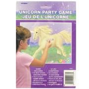 Unicorn Party Game - Pin The Horn Pk 1