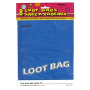 Loot Bags Blue Unique Fashion Pk8
