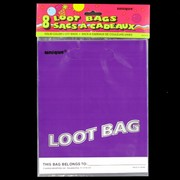 Loot Bags Purple Unique Fashion Pk8