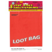 Loot Bags Red Unique Fashion Pk8