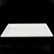 Platter Rectangular Melamine White 250x170mm Pk1