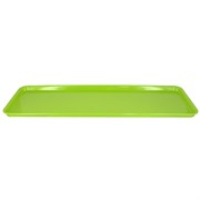 Platter Rectangular Melamine Lime 500x180mm Pk1