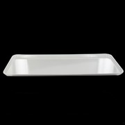 Platter Rectangular Melamine White 500x180mm Pk1