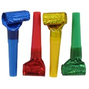 Party Blowouts - Prismatic Pk8 (Assorted Colours)