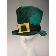 St Patricks Day Party Hat - Felt Green Pk1
