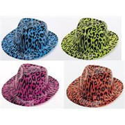 Safari Gangster Hat (Assorted) Pk 1