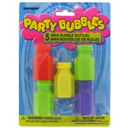 Party Bubbles - Mini Bottles Pk 5