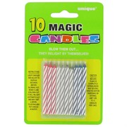 Candles Magic Spiral Multi Pk10