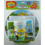 Wiggles Party Pack for 8 Pk 40