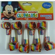 Mickey Mouse Party Blowouts Pk 8