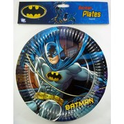 Batman Paper Plates (9in) Pk 8