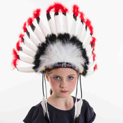 Indian Feather Headband Pk 1