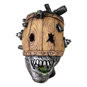 Barrel Head Zombie Latex Mask Pk 1