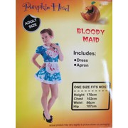 Adult Bloody Maid Costume Pk 1