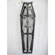 Hanging Skeleton In Cage 43cm Pk 1