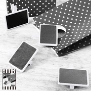 Mini White Blackboards Pk 4