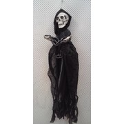 Animated Hanging Reaper Decoration with Shackles (150cm) Pk 1