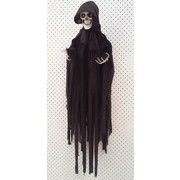 Animated Hanging Reaper Decoration (90cm) Pk 1