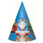 Thomas and Friends Party Hats Pk 8
