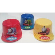 Thomas The Tank Engine Assorted Plastic Hats Pk 1 (Assorted Designs)