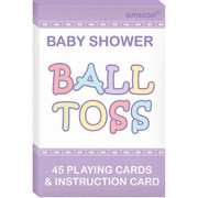 Baby Shower Question Ball Party Game Pk 1