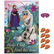 Frozen Party Game (Poster, 8 Stickers & Blindfold)