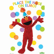 Sesame Street Party Game For 8 Players Pk 1
