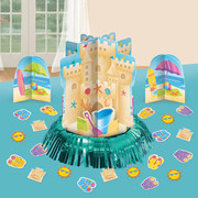 Fun In The Sun Table Decorating Kit (3 Centrepieces & Confetti)