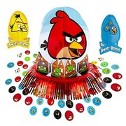 Angry Birds Table Decorating Kit (3 Centrepieces & Confetti)