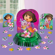 Dora The Explorer Table Decorating Kit (3 Centrepieces & Confetti)