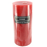 Red Rose Scented Pillar Candle (7x15cm) Pk 1
