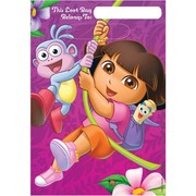 Dora The Explorer Loot Bags Pk 8