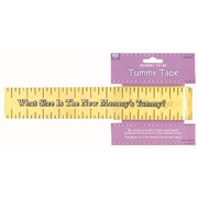 Baby Shower Party Game - Tummy Measure Tape Pk1